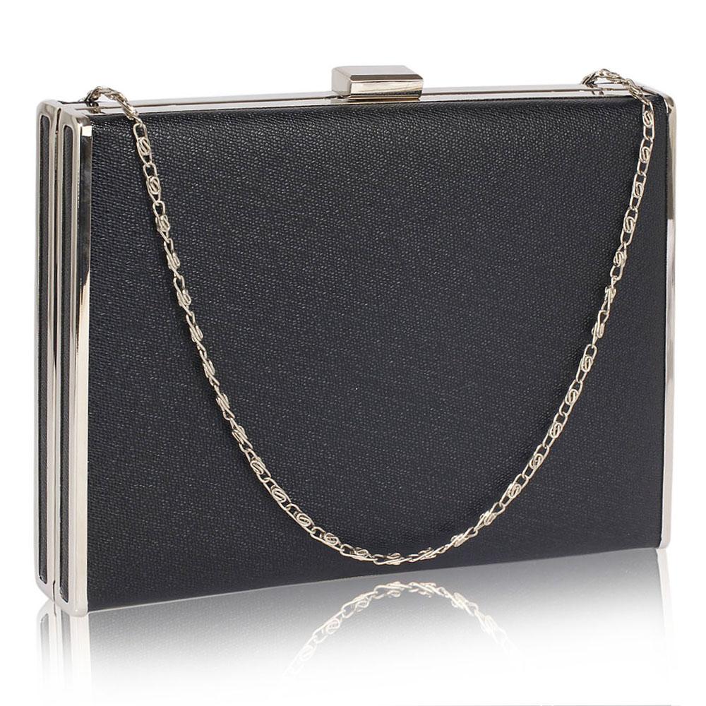 01794ac42b Elegantní Malá černá kabelka psaníčko LS Fashion LSE00343 černé