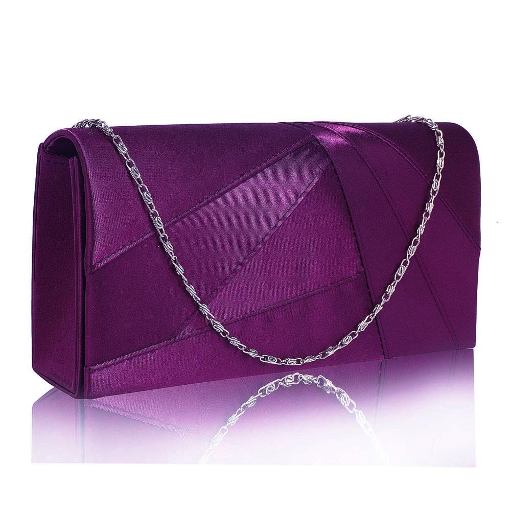 LS Fashion Společenská kabelka psaníčko LSE00328A fialové 089de023a8e